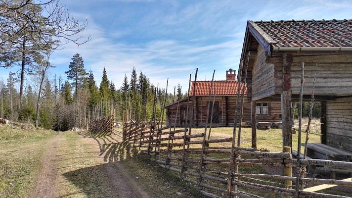 Im südlichen Dalarna jagt ein Museumsdorf das nächste.