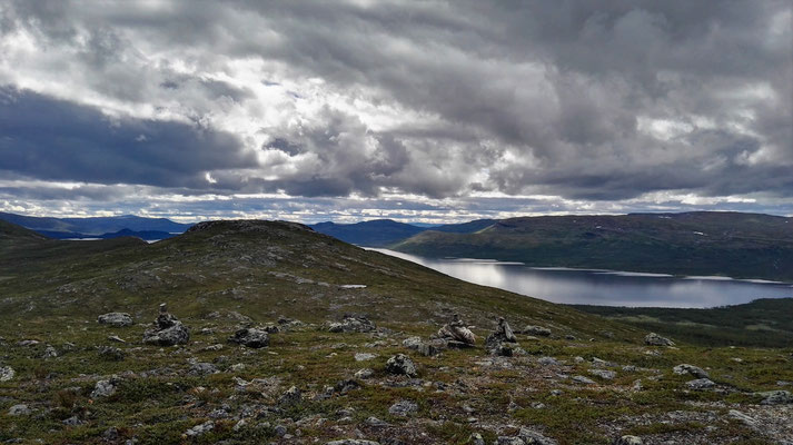 ...und wieder Blick auf den See.