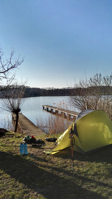 Mirow - Camping am Strandhotel