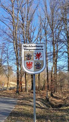 Mecklenburg-Vorpommern - mein erster kleiner Etappensieg nach knapp 100 km
