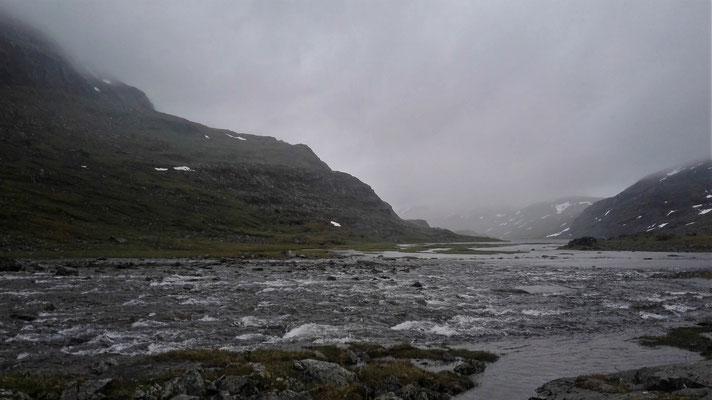 Und dann noch dieser Fluss...