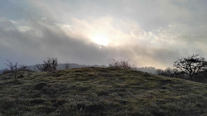 Sonnenaufgang am Havgardssjön