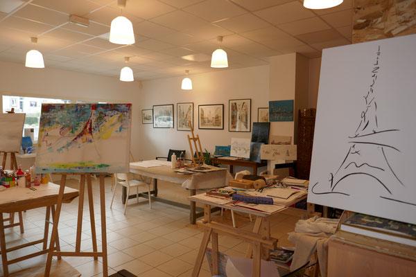 Sabine KALKA peintre - SAUVAGNON - Nord Béarn