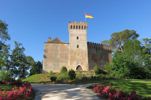 Morlanne Château tourisme Nord Béarn crédits Adeline Mouly