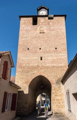 Circuit coeur historique - Tour de l'Horloge - Bastide de Lembeye - Tourisme Nord Béarn Madiran