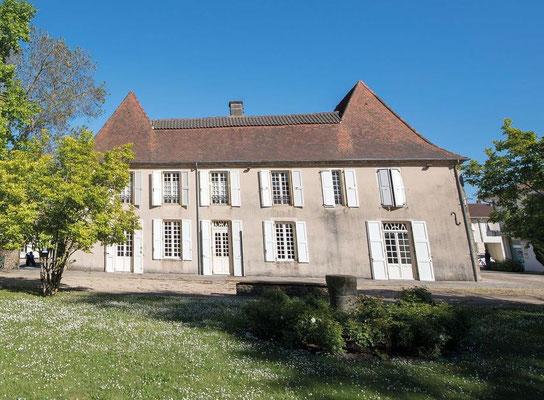 Circuit coeur historique - Château Hiton - Bastide de Garlin - Tourisme Nord Béarn Madiran