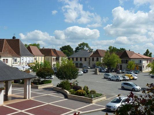 Circuit coeur historique - Place Marcadieu - Bastide de Lembeye - Tourisme Nord Béarn Madiran
