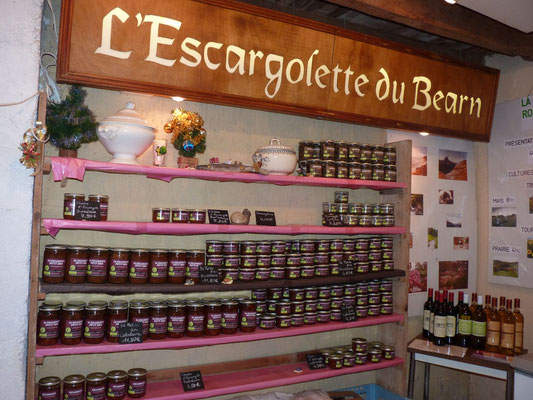 ferme escargots lannecaube visite boutique tourisme nord bearn madiran