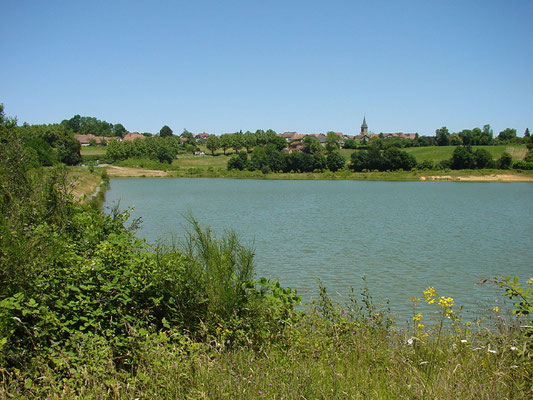 3 randonnée lac Arzacq tourisme nord bearn madiran crédit CC arzacq