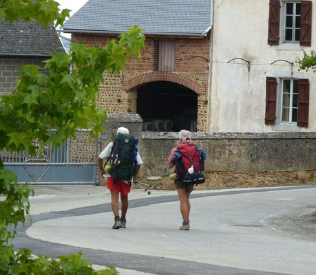 Voie d'Arles, passant à Anoye (Vic-Bilh)