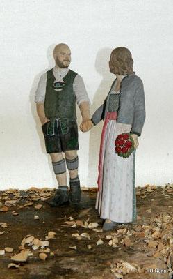 Brautpaar in Tracht