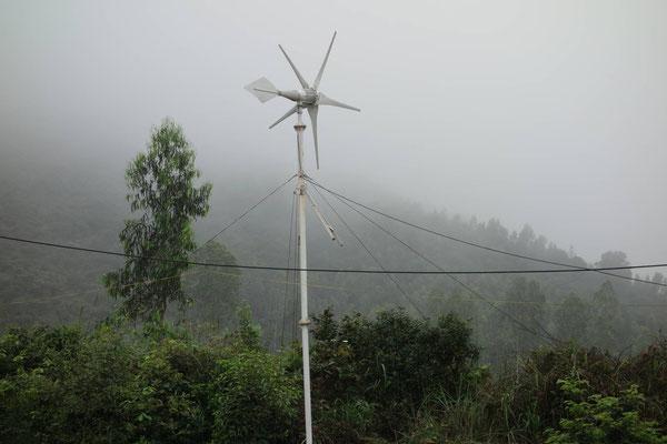 Bewässerung mit Wind