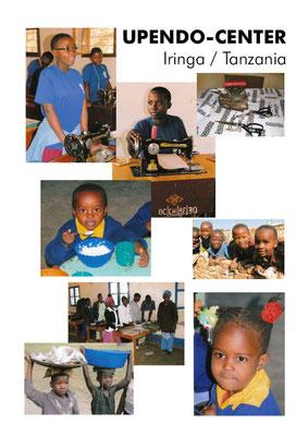 Flyer für Vorhaben im Upendo Center