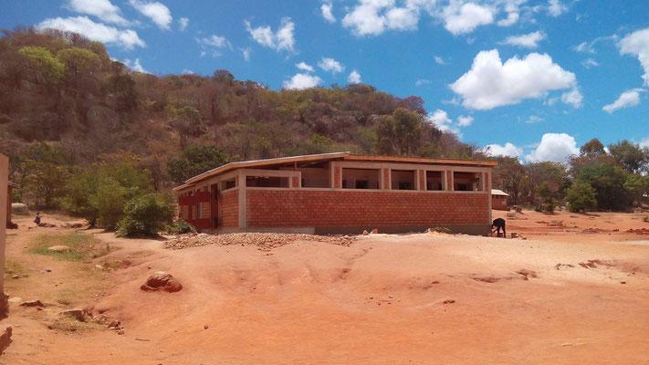 Neue Sanitäranlage der Mtwivila-Grundschule