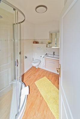 Badezimmer in der Wohnung Norderoog