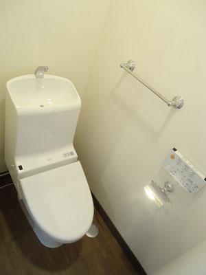 トイレも一新!清潔な空間へ