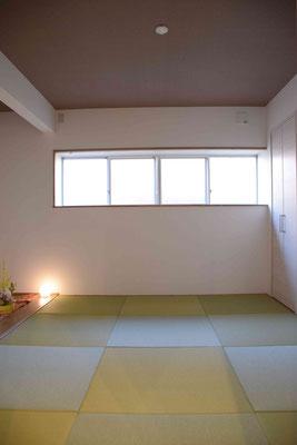 落ち着いた感じの和室(以前はキッチンでした)