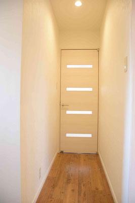 廊下は畳1枚分程度しかなく、その分空間を他に有効利用しています。