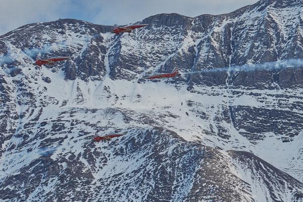 Patrouille Suisse at Axalp