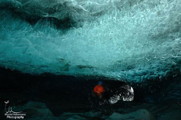 Skaftafell grotte glacière