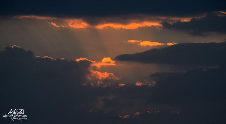 Debré Libanos sunset