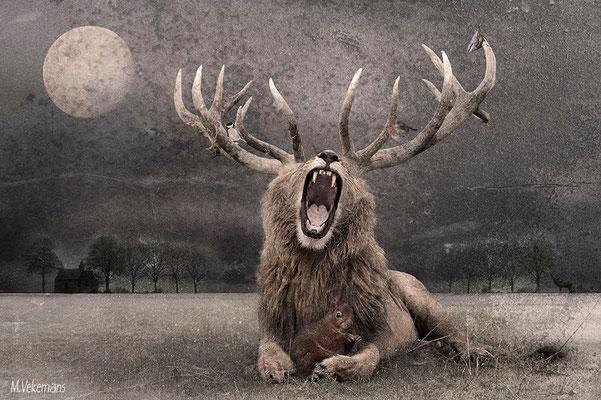 Le brame du lion