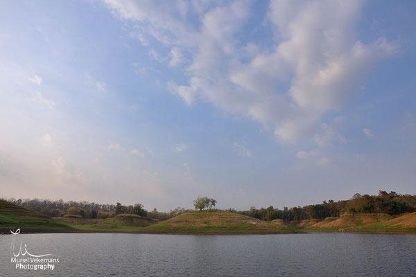 Satpura paysage de le réserve