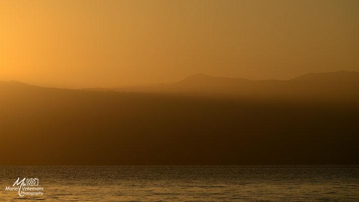 Lac  Langano sunrise