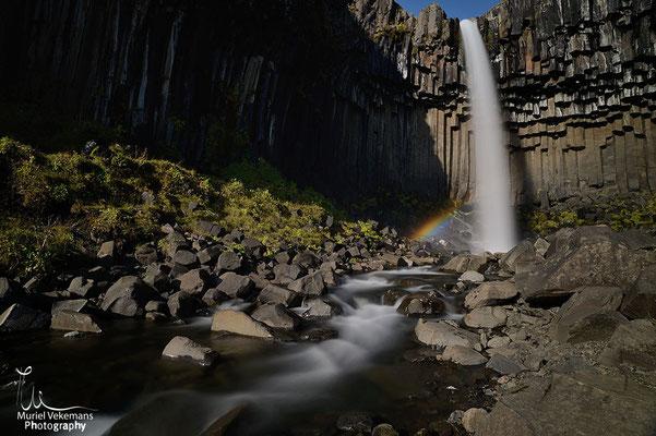 Skaftafell cascade