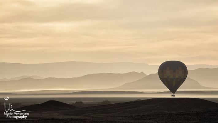 Sesriem Namib montgolfière