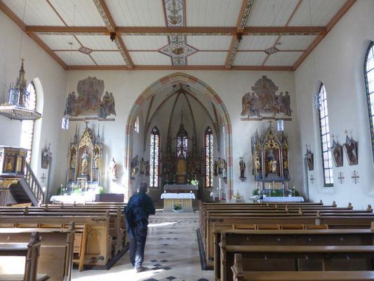 ... in der Leutenbacher Kirche ...