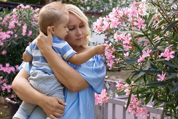 Paarshooting - Mutter Kind Shooting - Jenny und Sohn auf Entdeckung