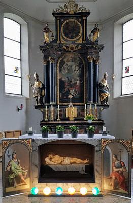 Heiliges Grab in Hohenweiler / Leiblachtal - Foto: Howilar Krippelar