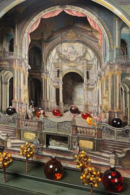 Modell eines Heiligen Grabes von Joseph Giner (1730-1803), Ende 18. Jh. – Fotonachweis Tiroler Landesmuseen/Volkskunstmuseum