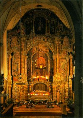 Das Heilige Grab in der Franziskanerkirche Schwaz - Foto BDA