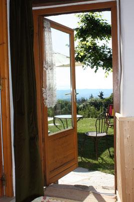 vue panoramique depuis la chambre