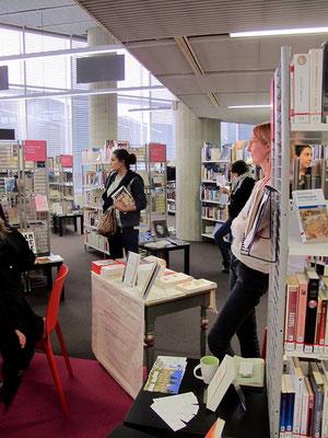 Rencontre à la Médiathèque de Bordeaux Mériadeck, Juliette Mézenc, Sophie Robin, Sophie Poirier, Une chambre à écrire