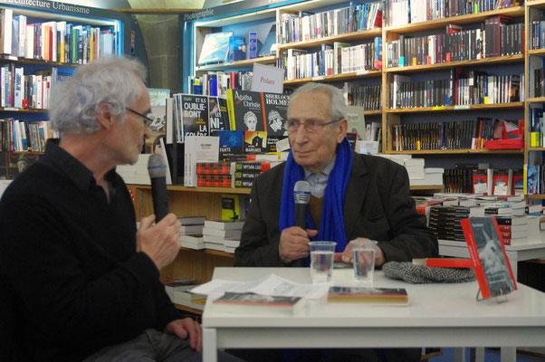Pierre Debauche avec Yves Kafka à La Machine à Lire, Bordeaux