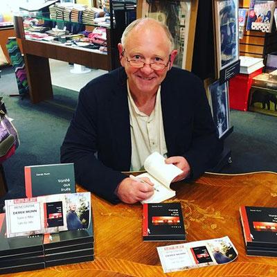 Rencontre avec Derek Munn, Vanité aux fruits, à la librairie Martin Delbert, Agen