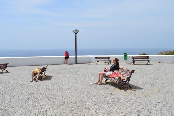 uitrusten in Zambujeira do Mar