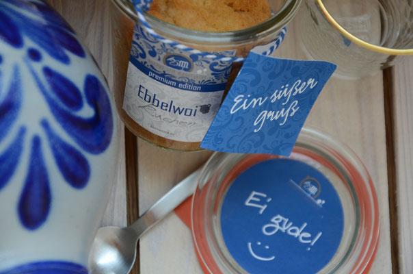 Ebbelwoi Kuchen im Weck-Glas