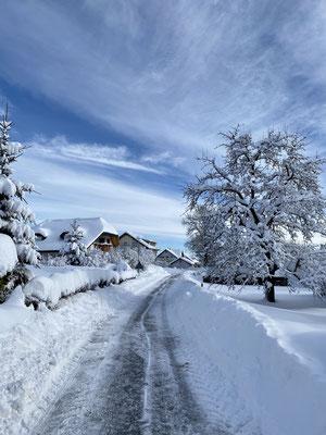 Wutach-Münchingen im Winter