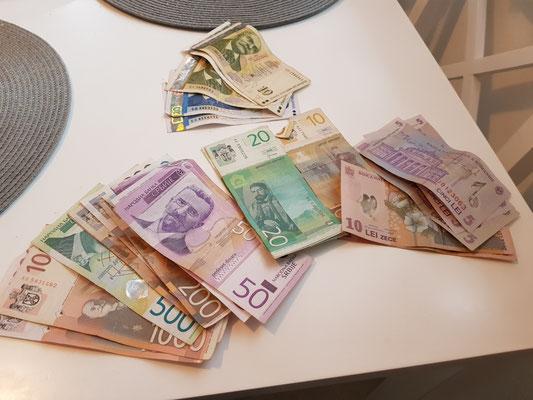 Unser nicht kroatisches, ausländisches Geld