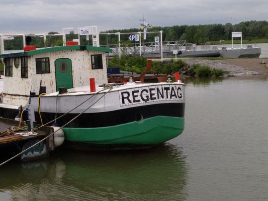 Hundertwassers Hausboot