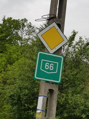 Route 66 bei Pecs, nicht dir Nat King Cole