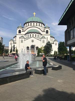 Größte orthodoxe Kirche auf dem Balkan