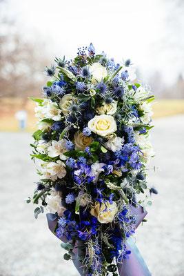 Blumengesteck hoch