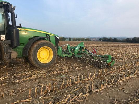 Bodenbearbeitung nach Mais Deumeland-Kather