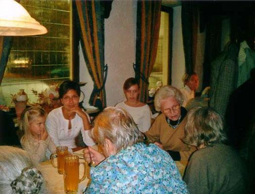 anschließend gemeinsames Essen im Stadtberger Hof
