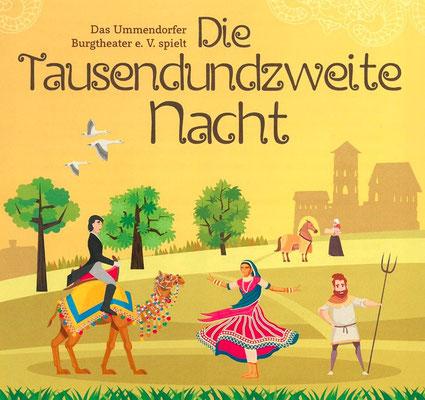 1002 Nacht Reklame 2018 Ummendorfer Burgtheater e.V.
